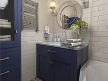 Квартира «Дизайн квартиры в духе американской классики», ванная . Фото № 27450, автор GM-Interior GM-interior
