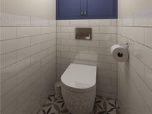 Квартира «Дизайн квартиры в духе американской классики», санузел . Фото № 27451, автор GM-Interior