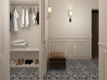 Квартира «Дизайн квартиры в духе американской классики», прихожая . Фото № 27446, автор GM-Interior