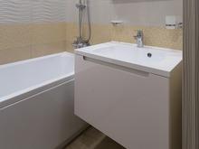 Квартира «Квартира с яркими акцентами», ванная . Фото № 27479, автор Крысова Ольга