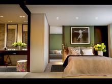 Квартира «SkyFort», ванная . Фото № 27488, автор INRE