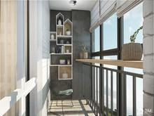 Квартира «Дизайн однокомнатной квартиры 43 кв. м — всё в одном с открытым характером», веранда лоджия . Фото № 27500, автор GM-Interior GM-interior