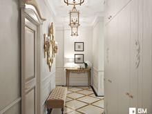 Квартира «Дизайн квартиры в классическом стиле на Остоженке», прихожая . Фото № 27508, автор GM-Interior
