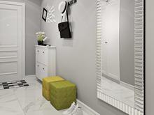 Квартира «Дизайн трёхкомнатной квартиры в скандинавском стиле», прихожая . Фото № 27527, автор GM-Interior
