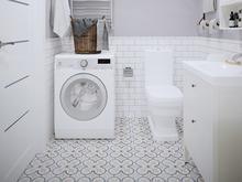 Квартира «Квартира в скандинавском стиле», ванная . Фото № 27547, автор Бойцова Ольга