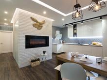 Квартира «Квартира в Киеве», кухня . Фото № 27560, автор Chvyzh Dmitriy