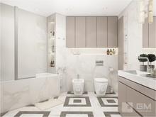 Квартира «Дизайн квартиры: серое вдохновение и элегантное золото», ванная . Фото № 27597, автор GM-Interior GM-interior