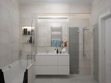 Квартира «Квартира с камином», ванная . Фото № 27601, автор Chvyzh Dmitriy