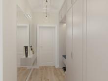 Квартира «Квартира с камином», прихожая . Фото № 27600, автор Chvyzh Dmitriy