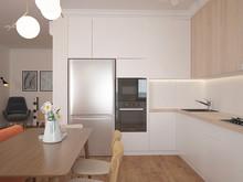 Квартира «Вашингтон», кухня . Фото № 27607, автор Chvyzh Dmitriy