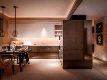 Квартира «SKY», кухня . Фото № 27612, автор INRE