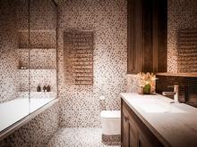 Квартира «SKY», ванная . Фото № 27616, автор INRE