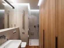 Квартира «Интерьер квартиры на Арбате», ванная . Фото № 27625, автор ГИКАЛО КУПЦОВ АРХИТЕКТОРЫ