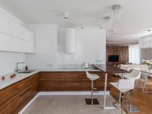 Квартира «Квартира для молодой супружеской пары», кухня . Фото № 27643, автор Симагина Ольга