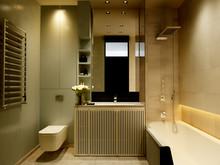 Квартира «Leninsky», ванная . Фото № 27664, автор INRE