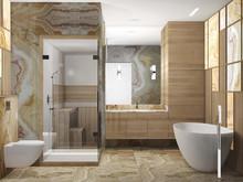 Квартира «Сердце столицы», ванная . Фото № 27728, автор Гусева Наталия