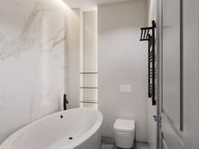 Квартира «Легкая классика», ванная . Фото № 27732, автор Suiten n. Seven