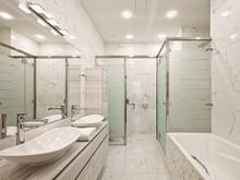Квартира «Rosewood and ginger», ванная . Фото № 27776, автор Ермак Юрий