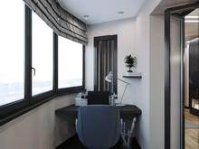 Квартира «Квартира для холостяка», веранда лоджия . Фото № 27831, автор Борт Виталий
