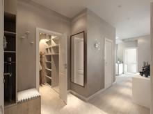 Квартира «Современная квартира-студия», прихожая . Фото № 27843, автор Сафронова Юлия