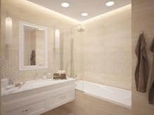 Квартира «ЖК Авангард», ванная . Фото № 27873, автор Дремина Анастасия