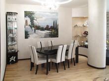 Квартира «Таунхаус для жизни», столовая . Фото № 27876, автор Андреевы Андрей и Екатерина