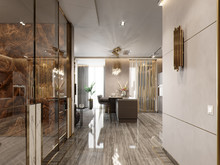 Квартира «Апартаменты в ЖК Крестовский12», коридор . Фото № 27920, автор Жданов Евгений