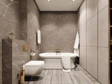 Квартира «Апартаменты в ЖК Крестовский12», ванная . Фото № 27922, автор Жданов Евгений
