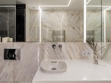 Квартира «Магия белого», ванная . Фото № 27967, автор Святославская Анна