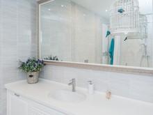 Квартира «Мягкая классика. Квартира в сталинке», ванная . Фото № 28007, автор Богданова Ирина