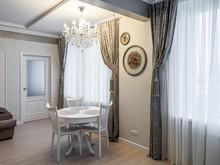 Квартира «Мягкая классика. Квартира в сталинке», гостиная . Фото № 28005, автор Богданова Ирина