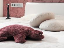 Квартира «Квартира на улице Маршала Жукова», спальня . Фото № 28014, автор Андреевы Андрей и Екатерина