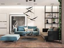 Квартира «Гостиная в стиле лофт с элементами экостиля», гостиная . Фото № 28023, автор Дуквен Ольга