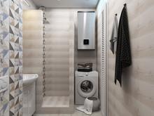 Квартира «Апартаменты 27 м кв в Севастополе», ванная . Фото № 28026, автор Дуквен Ольга