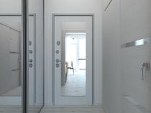 Квартира «Апартаменты 27 м кв в Севастополе», прихожая . Фото № 28028, автор Дуквен Ольга