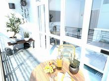 Квартира «Апартаменты 27 м кв в Севастополе», веранда лоджия . Фото № 28027, автор Дуквен Ольга