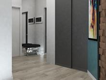 Квартира «Дизайн-проект двухкомнатной квартиры в ЖК Евросити», прихожая . Фото № 28047, автор Дуквен Ольга
