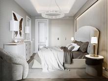 Квартира «Апартаменты в ЖК Привилегия», спальня . Фото № 28083, автор Жданов Евгений
