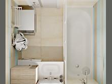 Квартира «Квартира в современном стиле», ванная . Фото № 28089, автор Луценко Екатерина