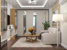 Квартира «Квартира в современном стиле», гостиная . Фото № 28086, автор Луценко Екатерина