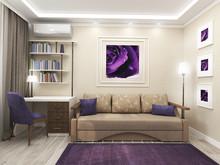 Квартира «Квартира в современном стиле», гостевая . Фото № 28087, автор Луценко Екатерина