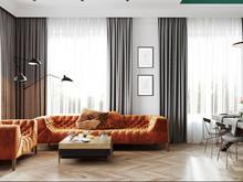 Квартира «INSPIRATION», гостиная . Фото № 28119, автор Ляпина Екатерина