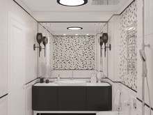 Квартира «INSPIRATION», ванная . Фото № 28122, автор Ляпина Екатерина