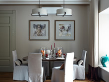 Квартира «Уютная квартира на Пречитсенке», столовая . Фото № 28177, автор Сенькина Валерия