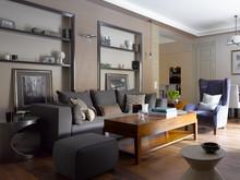 Квартира «Уютная квартира на Пречитсенке», гостиная . Фото № 28176, автор Сенькина Валерия