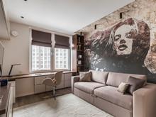 Квартира «Ажурный контемпорари», кабинет . Фото № 28256, автор Вивенцова Анастасия