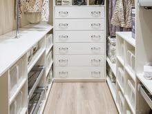 Квартира «Ажурный контемпорари», гардеробная . Фото № 28257, автор Вивенцова Анастасия