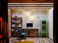 Квартира «ЛОФТ», кабинет . Фото № 28261, автор Аполонов Евгений