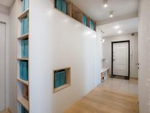 Квартира «БИРЮЗОВЫЙ АКЦЕНТ», коридор . Фото № 28278, автор Старикова Ольга