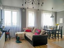 Квартира «Двушка Сканди», гостиная . Фото № 28282, автор Сафронова Дарья